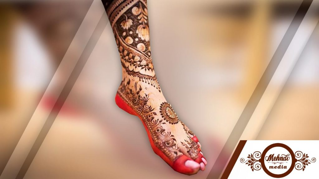henna designs for legs and feet