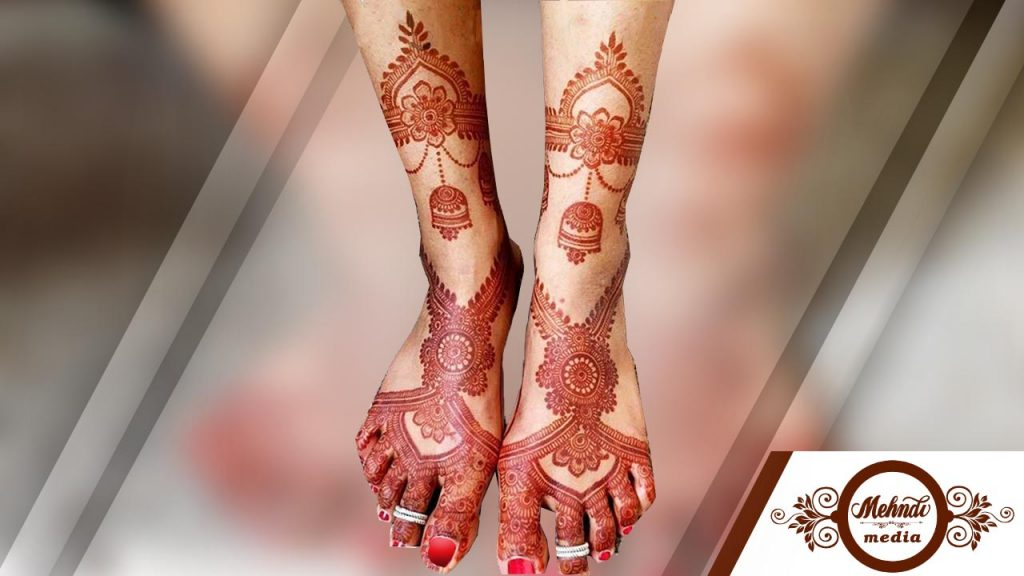 henna patterns feet 2018