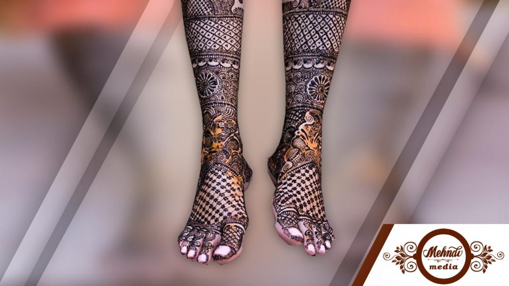 indian mehndi designs for feet