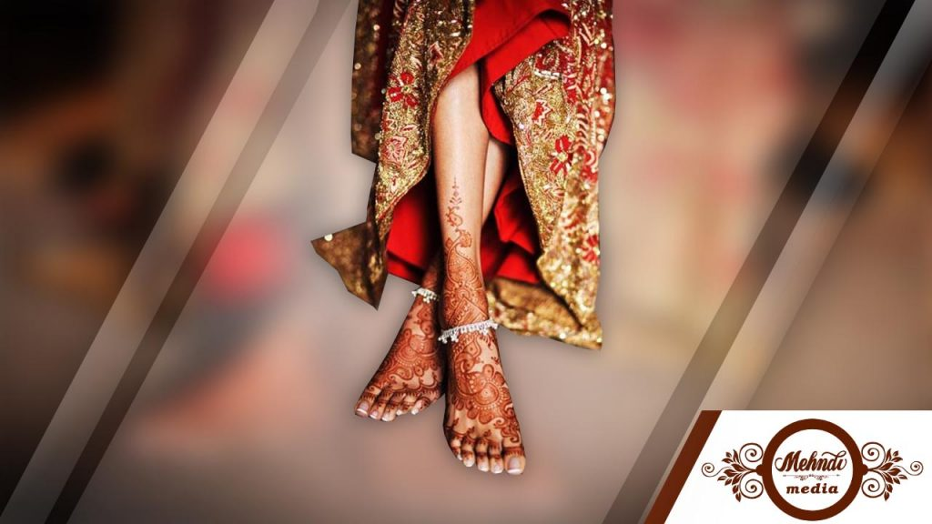 rajasthani bridal mehndi designs for full leg
