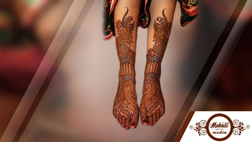 pakistani mehndi designs for legs