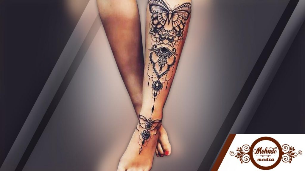 latest arabic mehndi designs 2018 for legs