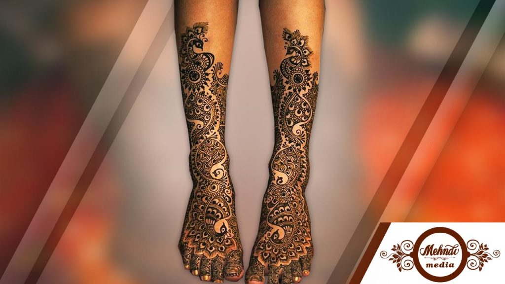 mehndi designs for legs photos