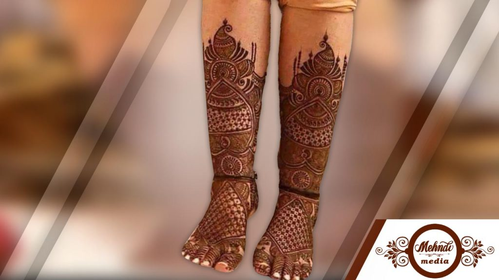 50 Amazing Mehndi Designs For Legs And Feets Simple