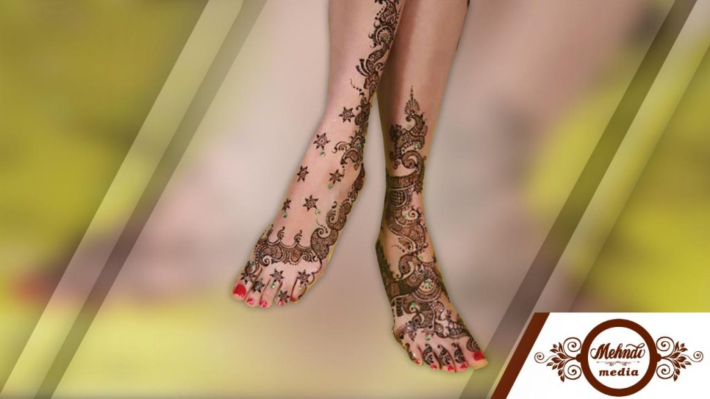 Mehndi Tattoo Designs For Legs : Amazing mehndi designs for legs and feets simple