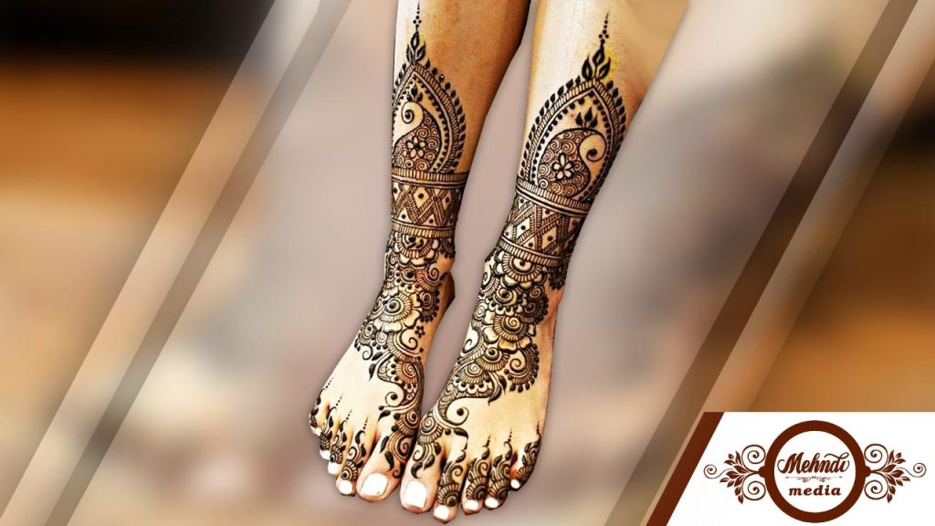 khaleeji henna designs for legs