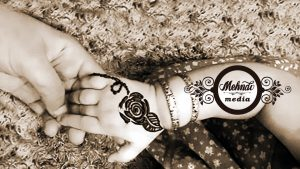 Flower Mehndi Design For Kids