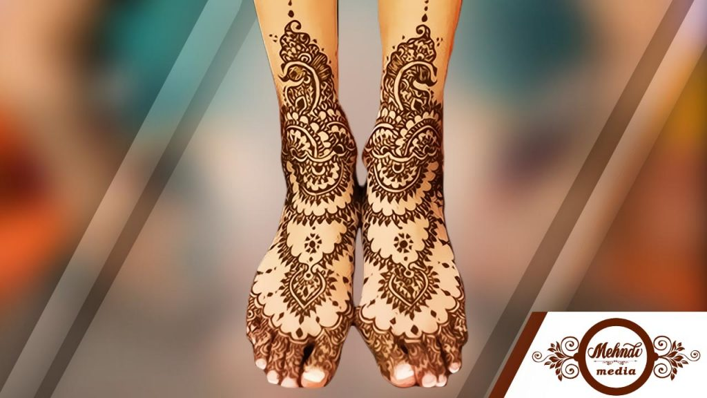 Mehndi Ankle Images : 50 amazing mehndi designs for legs and feets simple