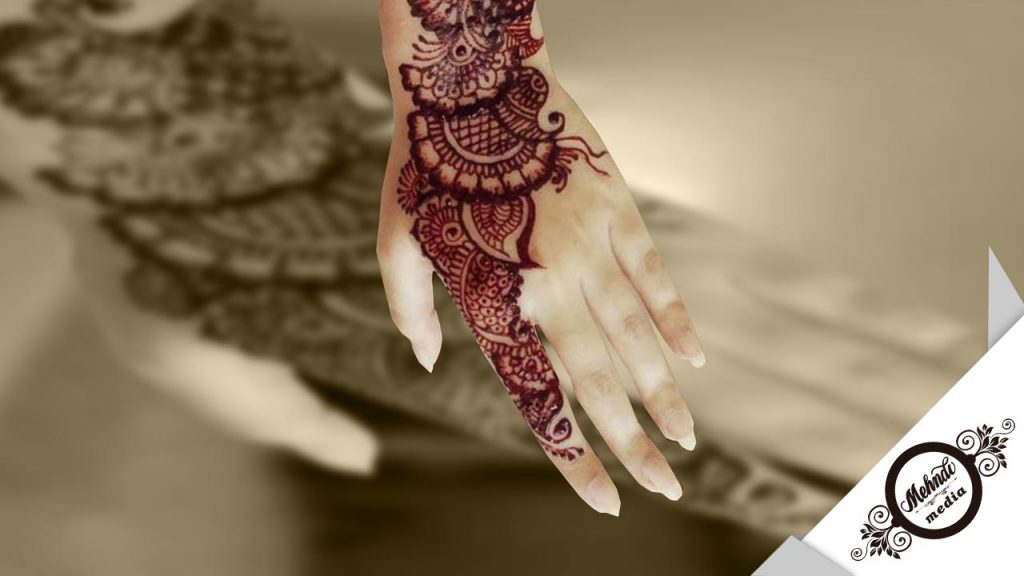 bridal mehndi designs easy