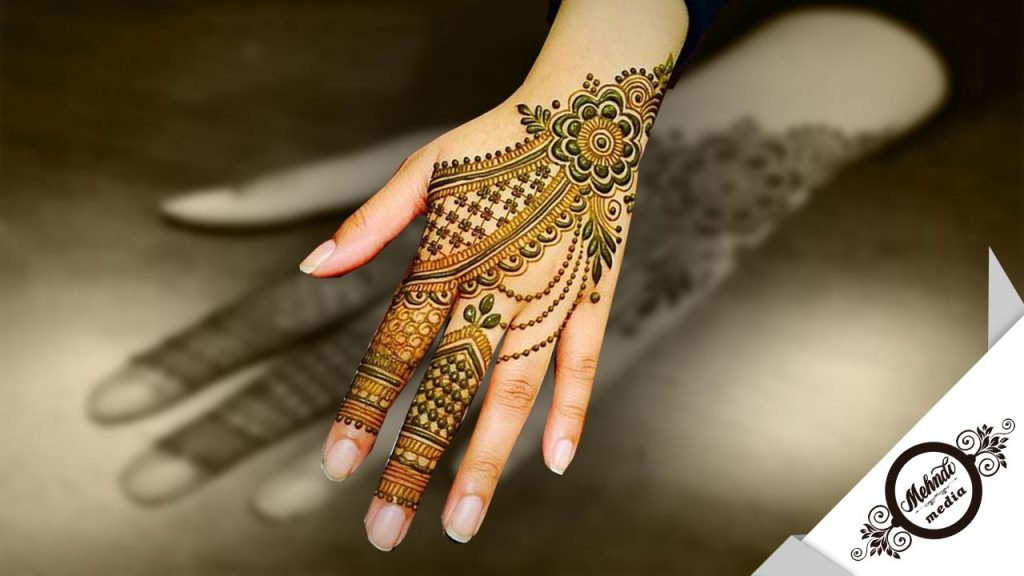 simple and easy bridal mehndi designs