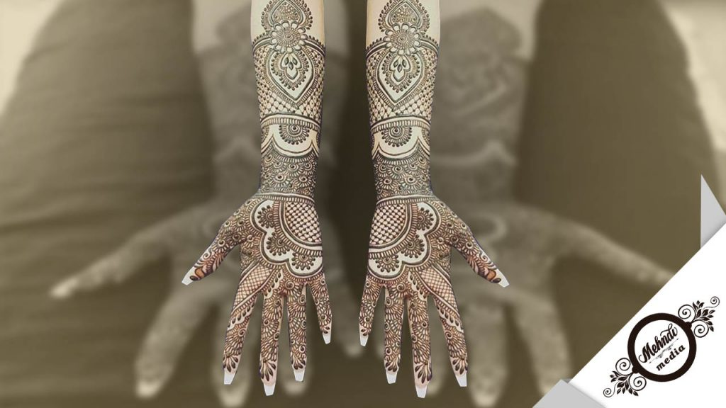 bridal mehndi designs arms