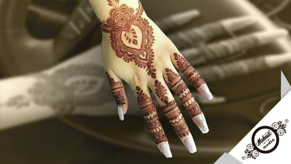 bridal mehndi designs images