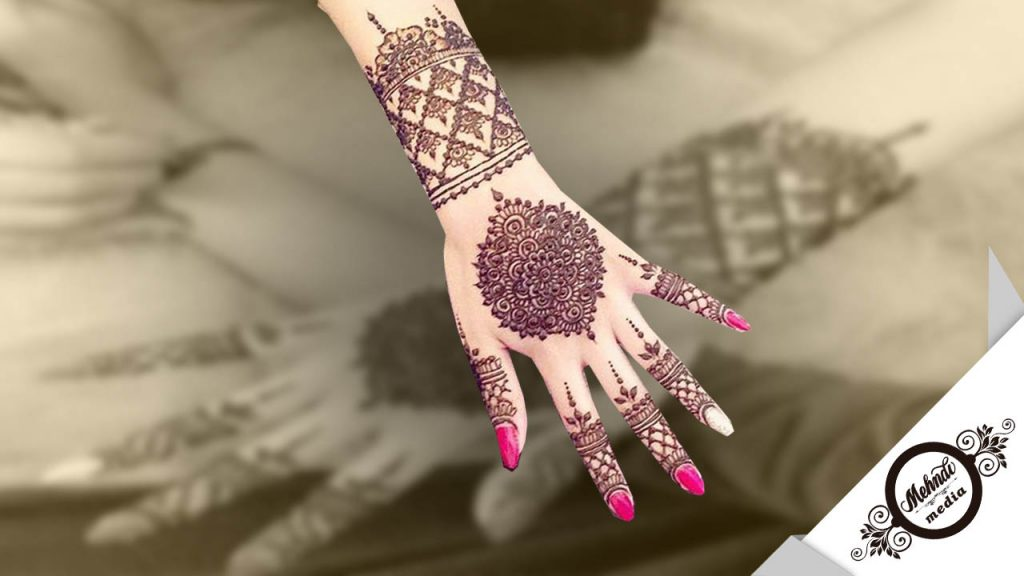 bridal mehndi designs step by step