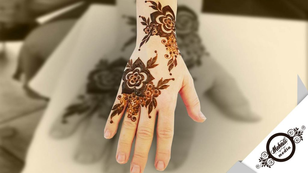 bridal mehndi designs with figures