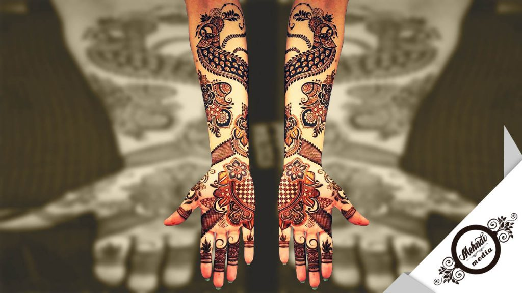 new bridal mehndi designs photos