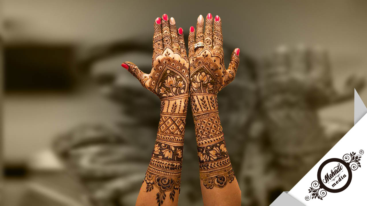 Mehndi Bridal Mehndi Design : Mehndi media latest free alluring stunning or henna designs