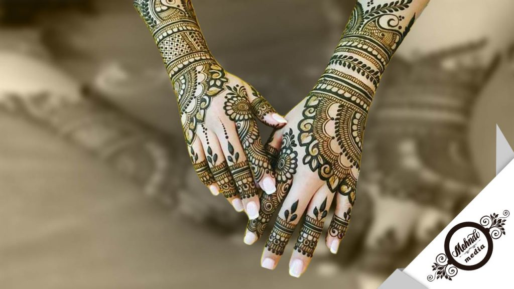 bridal mehndi designs backhand