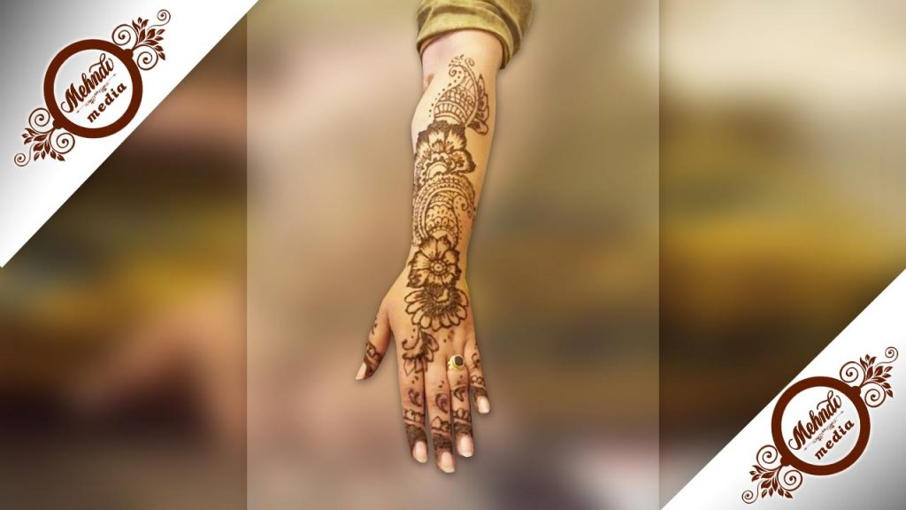 pakistani henna designs for bridal