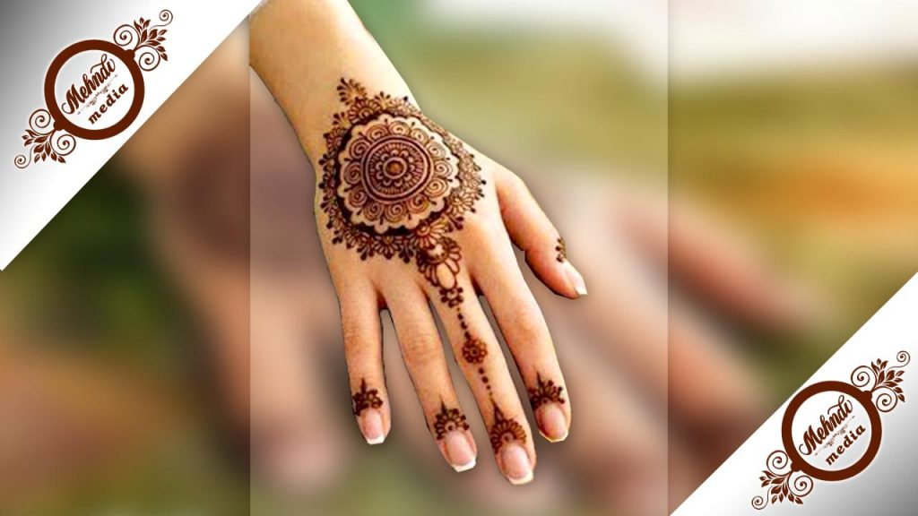 pakistani mehndi designs easy