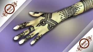 Backhand Mehndi Design