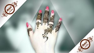 Simple Finger Mehndi Designs