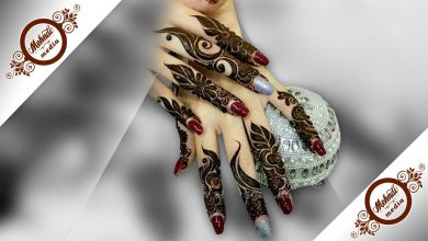 Latest Finger Mehndi Design