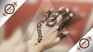 Finger Mehndi Design